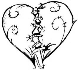 broken heart coloring pages free download clip art free clip art clipart library
