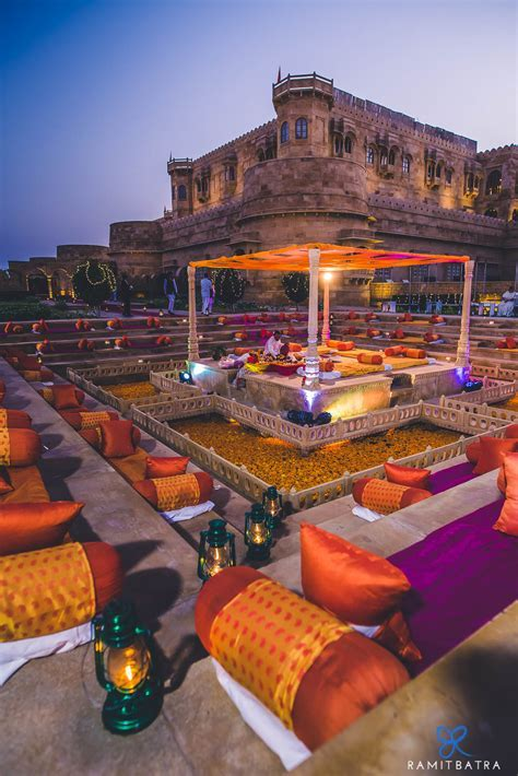 Suryagarh Jaisalmer Destination Wedding   Deepika & Anuj