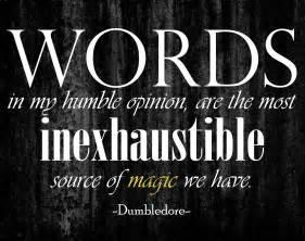 Kitchen Magic Quotes Harry Potter Dumbledore Inspirational Quotes Quotesgram