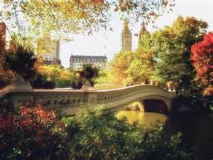 Bow Duvet Cover Bow Bridge Autumn Central Park Photograph By Vivienne