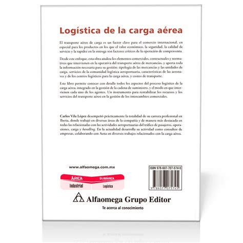 libro a la carga 80 libro log 205 stica de la carga a 201 rea 2 170 edici 243 n
