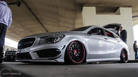 Tieferlegung Cla Shooting Brake by Shooting Star Mercedes Benz Cla Shooting Brake