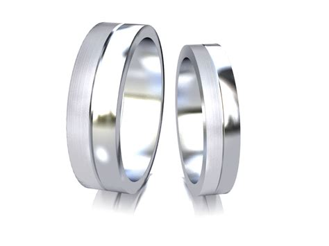finesse matching wedding rings adorna