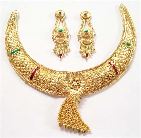 Gold Jewellery by Earrings Jewellery Designs