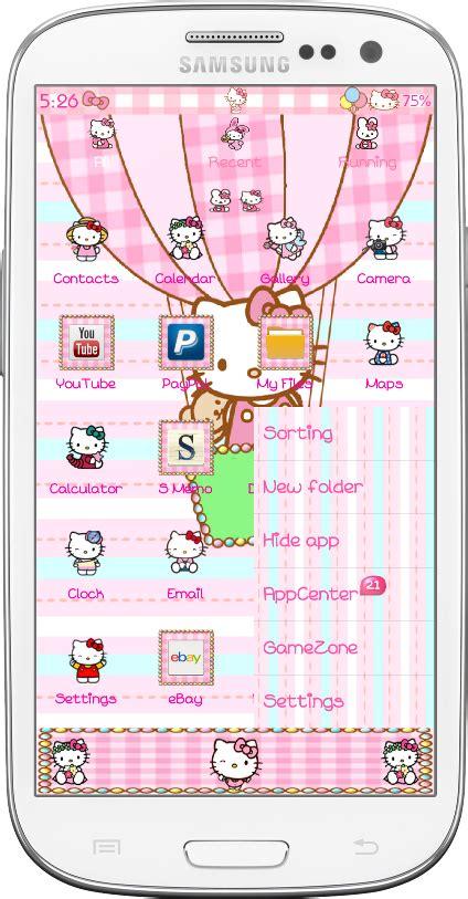 go launcher themes hello kitty mobile9 pretty droid themes hello kitty amusement park go launcher