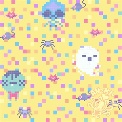 pattern pastel drawing yellow pastel goth pattern by amkili on deviantart
