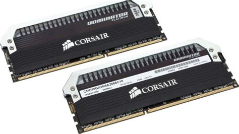 Ram Corsair Dominator Platinum Series corsair dominator platinum series 16gb 2x8gb ddr3 1600 mhz cmd16gx3m2a1600c9 buy best price