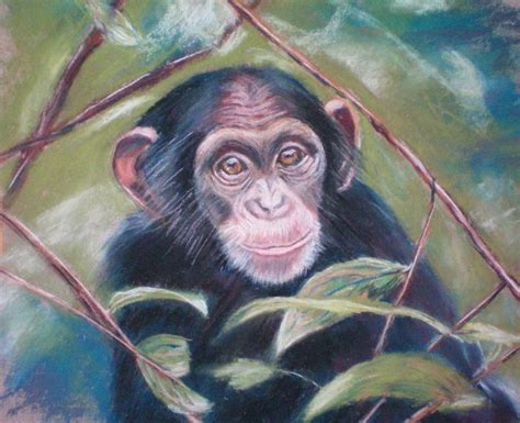 monkey painting yessy gt cathy geib gt monkey see baby painting