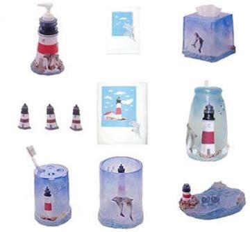 lighthouse bathroom accessories lighthouse bath accessories