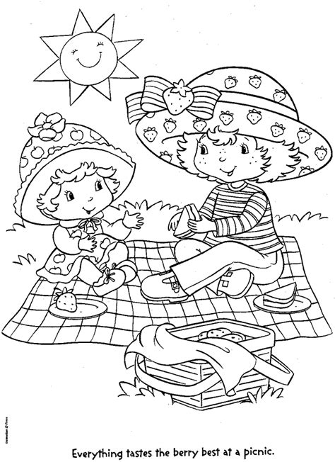 picnic theme coloring pages coloring pages