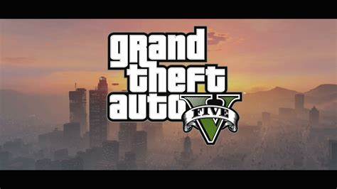 Grand Theft Auto V Logo by Gta 5 Official Trailer