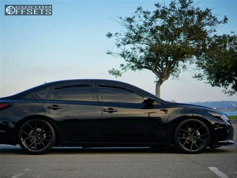 2016 nissan altima custom 2016 nissan altima rotiform kps bc racing coilovers