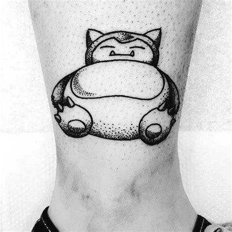 snorlax tattoo 30 snorlax designs for ink ideas