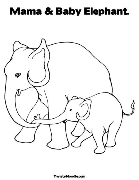 grey elephant coloring pages elephant coloring sheet