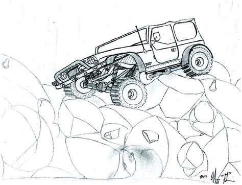 jeep renegade coloring page lifted jeep wrangler coloring page coloring pages