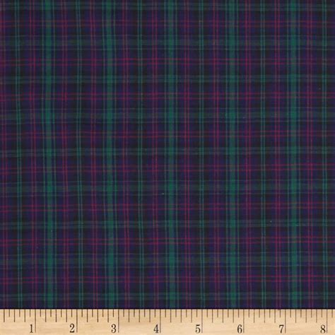 tartain plaid tartan plaid navy green discount designer fabric