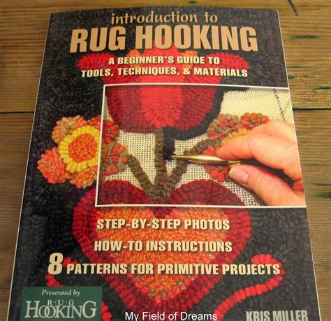 rug hooking books my field of dreams rugs books and such