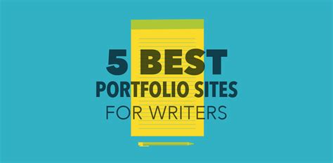 best for writers 5 best portfolio for writers