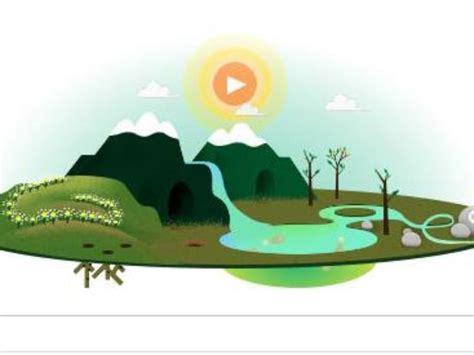 doodle para hoy el doodle de hoy es dedicado al d 237 a de la tierra sopitas