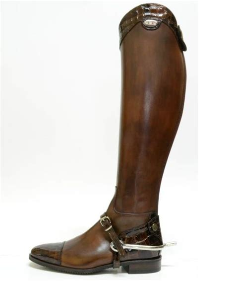 secchiari columbian luxury leather top boots tacknrider