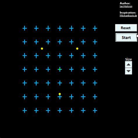 Motion Blind motion induced blindness excel