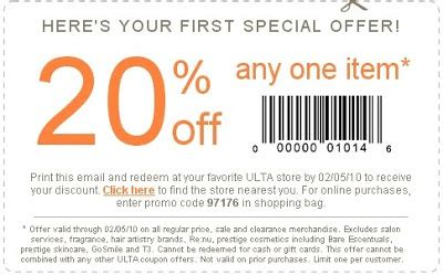ulta printable coupons january 2016 online ulta coupon printable specs price release date