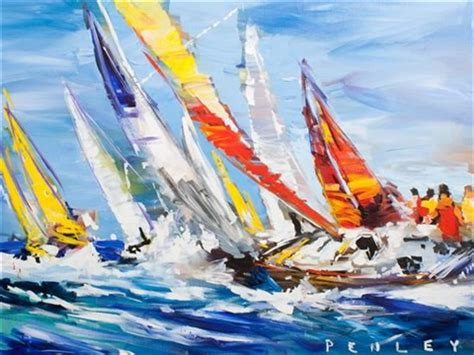 sailboats racing sailboats racing by steve penley on artnet