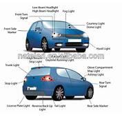 Toyota Fog Light Interior Accessories Led Car Bulbs Maya