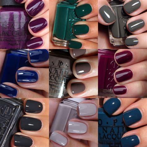 fall nail color trends nyxia sxedia nyxiwn kai manikioyr