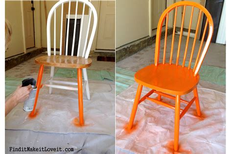 Painting Dining Chairs Dining Table Chairs Re Finish Transformation Tuesday Find It Make It It