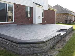 patio flooring options sted concrete patio cost cost of installing concrete patio interior