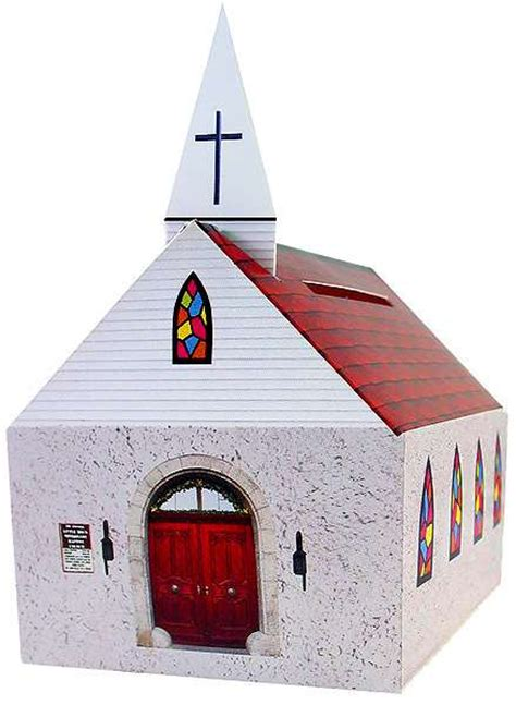 How To Make A Church Out Of Paper - best photos of cardboard church template free paper