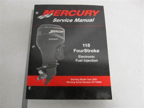 90 881980r02 Mercury Outboard Service Manual 115 Hp 4