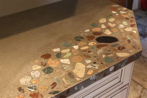 Rock Countertop by Modern Kitchen Countertops From Materials 30 Ideas