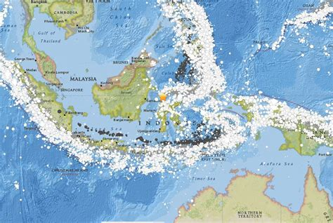 usgs map   september   palu indonesia earthquake