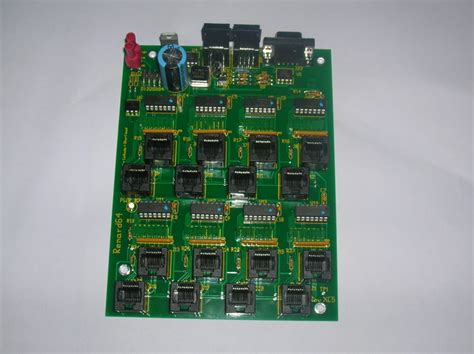 renard 64xc5 control board williams christmas lights