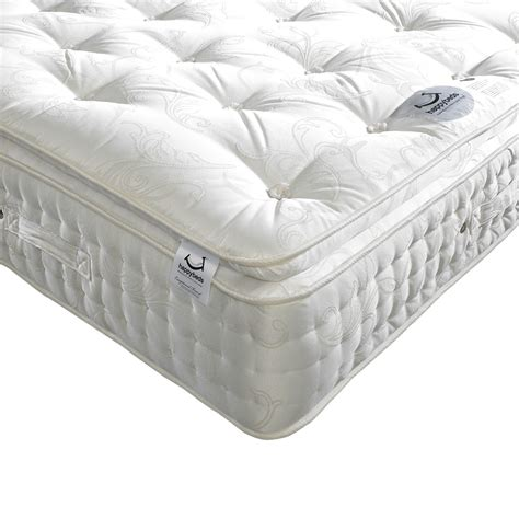 pillow top beds happy beds signature 2000 natural pocket sprung pillowtop