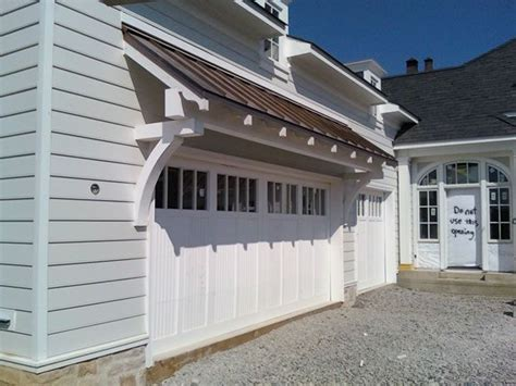 Garage With Shed Roof by Best 25 Roof Overhang Ideas On Front Door