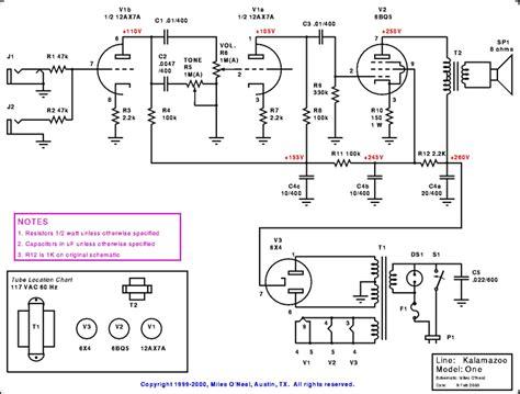 best bass guitar lifier el84 lifier schematic el84 free engine image for