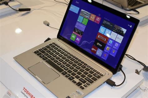 toshiba s 4k laptops and updated kirabook ces 2014