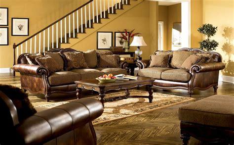 claremore antique living room set ashley furniture traditional living room sets best