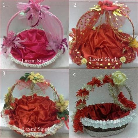 Decorative Wedding Basket   Designer Baskets Manufacturer