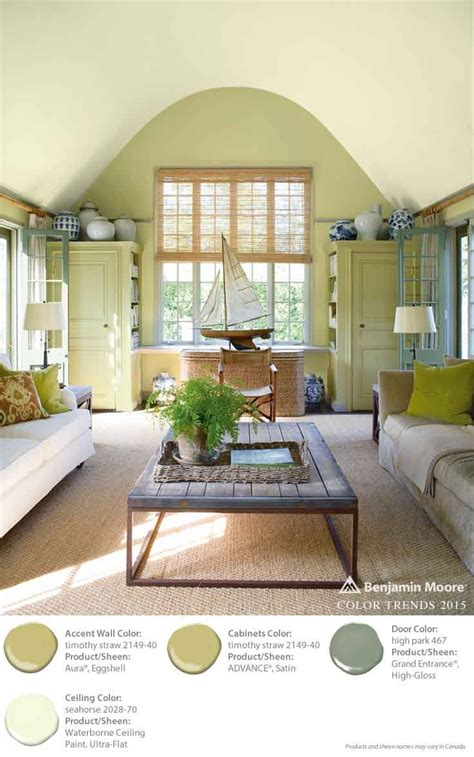 benjamin color trends 2015 accent wall timothy