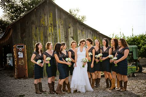 bride wore cowboy boots inspiration project