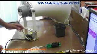 Corong Toa 5025b jual toa matching transformer zt 351 di lapak rumah desain speaker rumah speaker