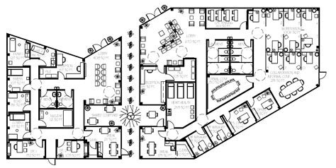commercial floor plans learning design bienenstock furniture library