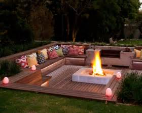 Firepit Garden Creative Pit Designs And Diy Options