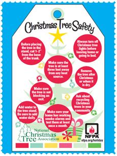 free christmas tree safety tips nfpa for the service