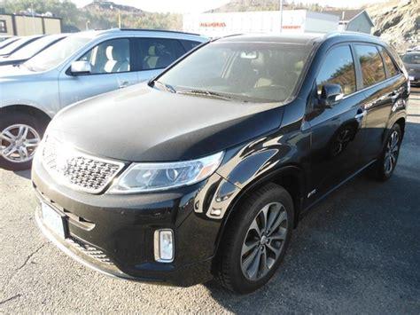 Kia Sudbury 2014 Kia Sorento Sx Black Kia Sudbury Motors Wheels Ca
