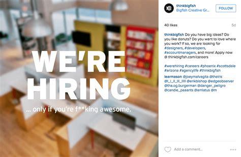 Instagram Design Jobs | 10 crazily creative instagram job ads